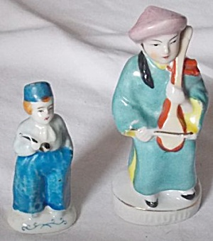 2 Occupied Japan Figurines