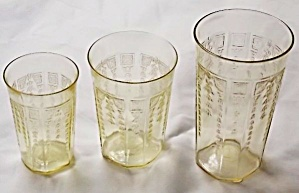 Hocking Glass Princess Iced Tea Glasses (Image1)
