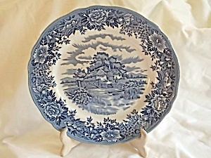 Salem China English Village Dinner Plate