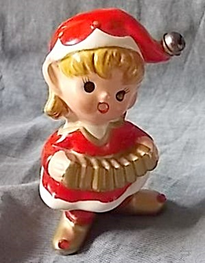 Vintage Elf w/ Squeeze Box E-3507 (Image1)