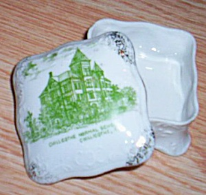Antique Trinket Box Chillicothe Normal School (Image1)