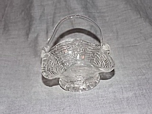 Miniature Glass Basket Very Detailed (Image1)