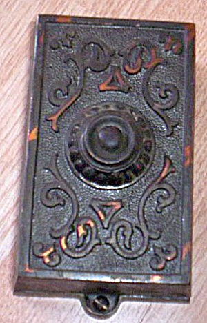 Antique Red Brass Door Bell/buzzer