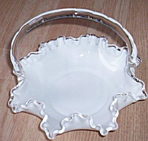 Fenton Silver Crest Double Crimped Basket (Image1)