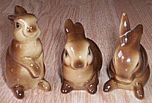 3 Goebel Rabbit Figurines (Image1)