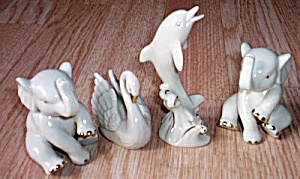 4 Lenox China Animal Figurines (Image1)