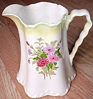W S George Radisson Milk Pitcher Astor Floral (Image1)