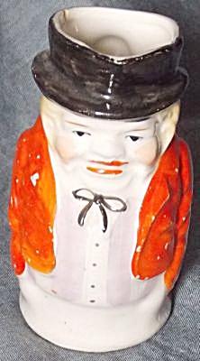 Vintage Porcelain Toby Cream Pitcher (Image1)