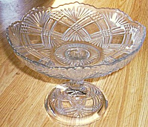 Greensburg Glass Shallow Fruit Stand Tacoma