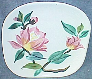 2 Red Wing B & B Plates Blossom Time Concord Shape (Image1)