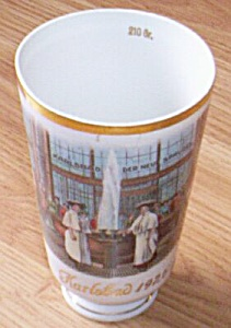 Antique Karlsbad Mineral Water Souvenir Cup 1925