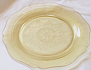 "Federal Patrician AKA Spoke 11"" Plate Amber (Image1)"