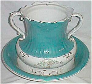 Antique Wash Basin and Slop Jar Marked Imperial (Image1)