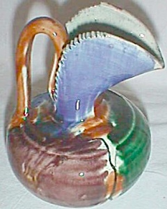 Very Retro Art Pottery Creamer Ewer Mexico (Image1)