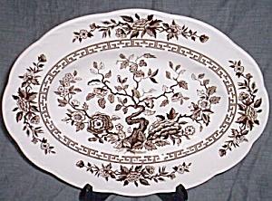 J & G Meakin Platter India (Image1)