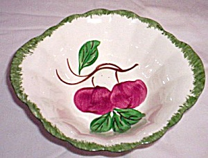Blue Ridge Pottery Bowl Autumn Apple (Image1)