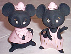 Lefton Mice Salt Pepper Shakers H-479 (Image1)