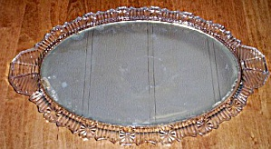 Antique Glass and Mirror Vanity Tray (Image1)
