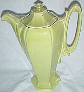 1940's Chartreuse Coffee Server (Image1)