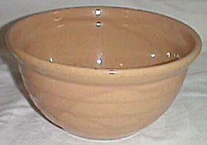 Medium Stoneware Mixing Bowl Marked Usa