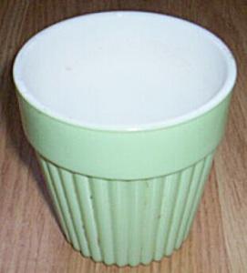 Hazel Atlas Mint Green Fired On Pot (Image1)