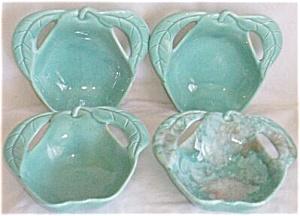 4 Enchanto Pottery Pear Shaped Sauce Bowls (Image1)
