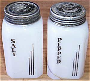Art Deco Salt & Pepper Range Set