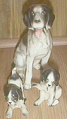 Lipper & Mann Creations Chained Dalmatian Family Dogs