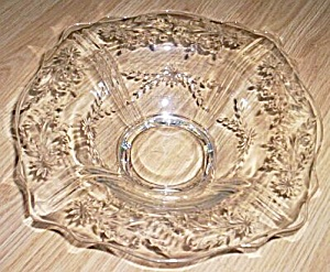 Gorgeous Pressed Glass Console Bowl (Image1)