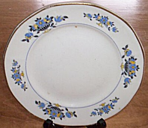 Atlas Globe China Salad Plate Floral