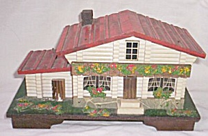 Adorable Music Jewelry Box Swedish Cottage