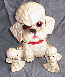 Chained Poodle Family