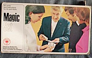 Vintage Western Germany Card Magic Set (Image1)