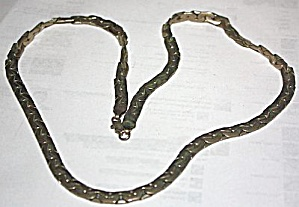 Vintage Men�s Sterling Link Necklace (Image1)
