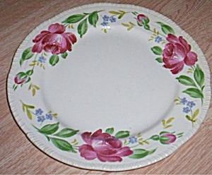 Homer Laughlin Dinner Plate Large Rose Rim (Image1)
