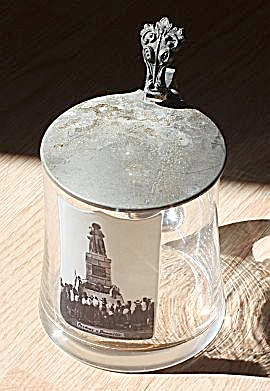 Antique Czech Beer Stein  (Image1)