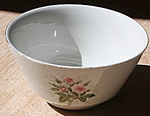 Hall China Mixing Bowl Heather Rose