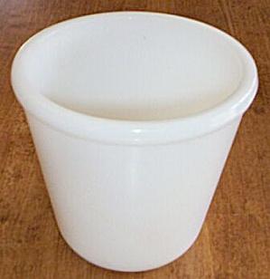 Hazel Atlas Milk Glass Beater Jar (Image1)