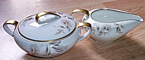 Noritake Cream And Sugar Lasalle