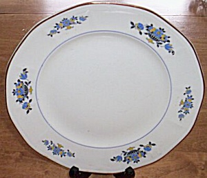 Atlas Globe China Dinner Plate Floral (Image1)