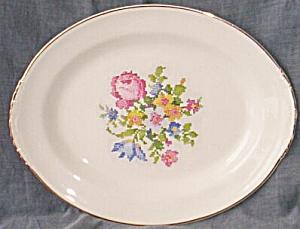 Homer Laughlin Nautilus Small Platter (Image1)