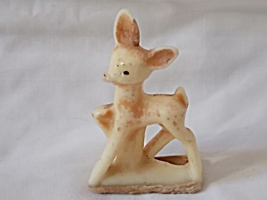 Vintage Young Rudolph Candle (Image1)