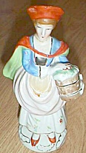 Occupied Japan Lady with Bucket Figurine (Image1)