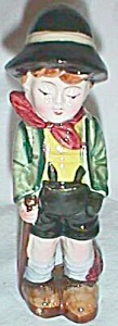 Old Figurine Boy w/ Pack Hiking (Image1)