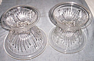 4 Pc Federal Glass Mixing Bowl Set Star (Image1)