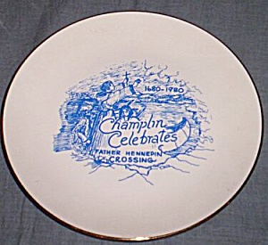 Commemorative Plate Lake Champlin Crossing (Image1)