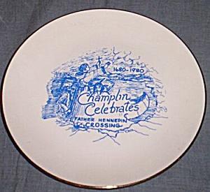 Commemorative Plate Lake Champlin Crossing (Image1)
