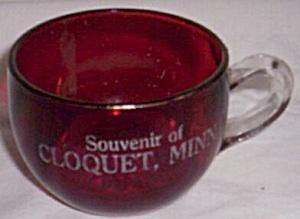 Indiana Okay Souvenir Cup Cloquet Minnesota (Image1)