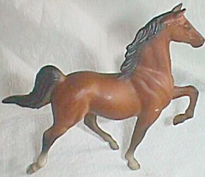 1975 Breyer Miniature Bay Horse Figurine Free Shipping (Image1)