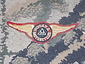 Vintage Winged Hodaka Motorcycle Patch